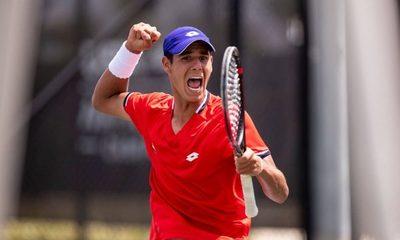 Tenis: Adolfo Daniel Vallejo se consagra campeón en Colombia