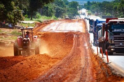 Duplicación de la Ruta PY02: avanzan obras entre San José y Eusebio Ayala