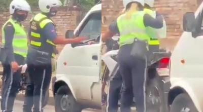 Intendente asunceno ordena un sumario «y a la calle» con dos agentes de tránsito coimeros
