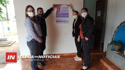 SIGUEN LOS RECORRIDOS DE DIFUSIÓN DE LA NUEVA LEY INTEGRAL CONTRA LA VIOLENCIA.