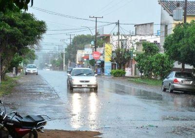 Jornada lluviosa en el sur  del país
