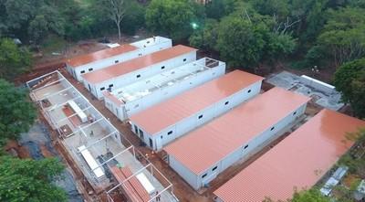 Construirán pabellones de contingencia para 128 camas por vía de la excepción