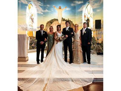 El matrimonio de María Alejandra y Nicolás Angulo