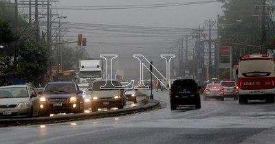 La Nación / Domingo fresco a cálido y lluvias dispersas