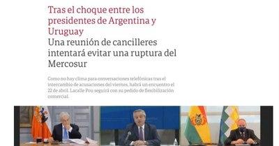 La Nación / Cancilleres del Mercosur quedan con la tarea de evitar el quiebre del bloque