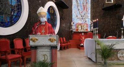 Misa de Domingo de Ramos, a puertas cerradas pero con transmisión online y por TV
