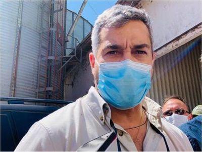 """Mario Abdo aparece en las redes para """"promocionar"""" vacunación contra el Covid-19"""