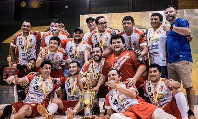 Atlético Stroessner es campeón de torneo de dirigentes