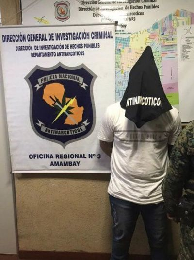 Capturan a presunto miembro de Comando Catarinense en PJC