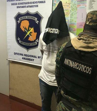 Brasileño con varios procesos en su país es capturado en Pedro Juan