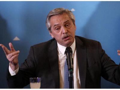"""""""Deuda con el FMI es impagable"""", afirma presidente argentino"""
