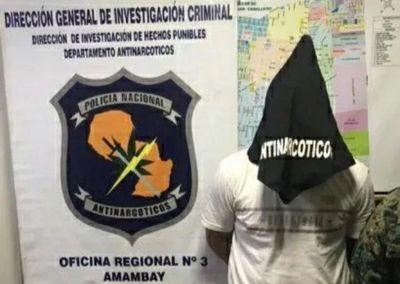 Detienen en Pedro Juan a presunto miembro de Comando Catarinense