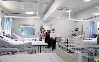 MOPC construirá nuevo pabellón para pacientes con Covid-19 en Luque •