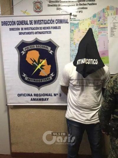 Capturan a presunto miembro de Comando Catarinense