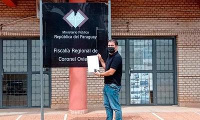 Periodista ovetense denuncia a intendente de Coronel Oviedo por supuesta amenaza de muerte – Prensa 5
