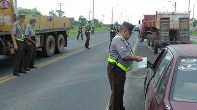 La Patrulla Caminera realizará estricto control en ruta hasta el próximo domingo