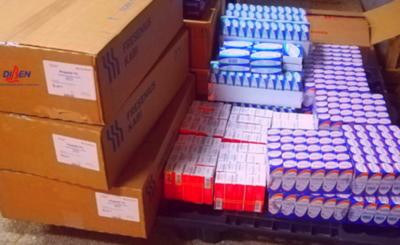 DIBEN entregó medicamentos para pacientes en UTI con covid