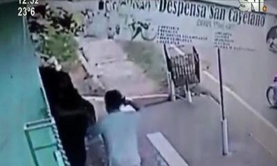 Nueva víctima de motochorros en Luque