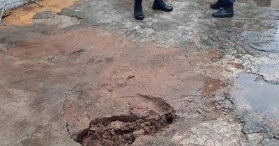 La Nación / Descartan que hundimiento en Tacumbú esté relacionado con túnel