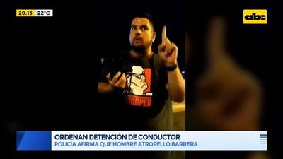 Imputaron a joven quien atropelló barrera policíal en la Costanera