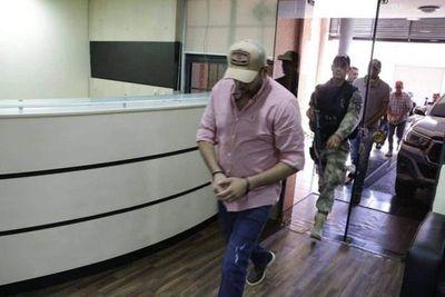Samura es detenido por agentes de la SENAD y la Federal del Brasil