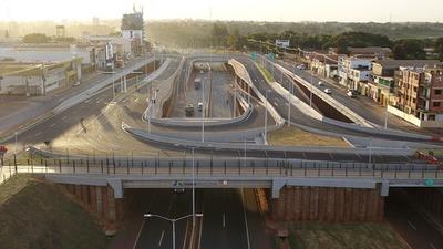 Multiviaducto de CDE: Aclaran que aún no está habilitado para el tránsito