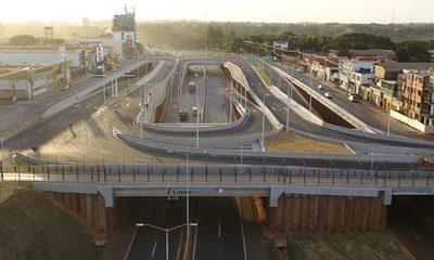 Informan que Multiviaducto no está habilitada aún para el tránsito