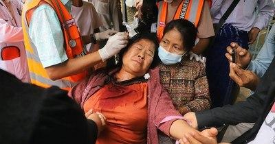 """La Nación / La UE condena la """"inaceptable"""" violencia militar en Birmania"""