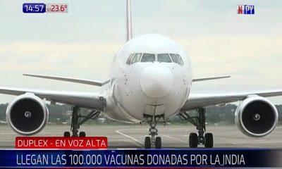 ¡Llegaron las vacunas indias a Paraguay!