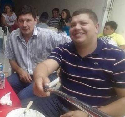 Presidente de seccionaleros defiende alquiler de seccional a narcos del PCC en Pedro Juan Caballero
