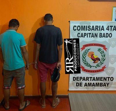 Tras asalto a una hamburguesería, detuvieron a dos brasileños en Capitán Bado