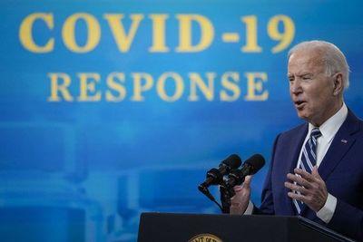 """""""Estamos lejos de ganar la guerra contra el covid-19"""", dice Biden"""