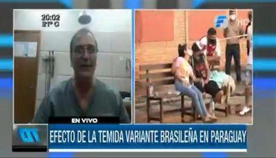 """Dr. Mateo Balmelli: """"Paraguay debe reforzar la frontera con Brasil"""""""