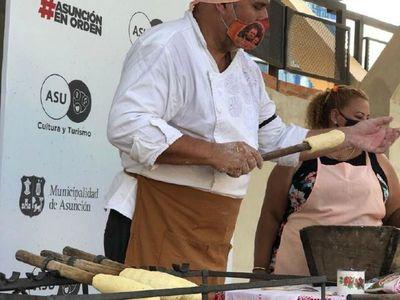 Por Semana Santa, enseñan vía online cómo hacer chipa