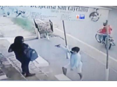 Ladrones asaltan y llevan donación para enfermo de Covid-19