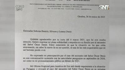 Las hijas de Óscar Denis recibieron una respuesta de Michelle Bachelet