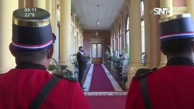 Importante reunión del Presidente con su gabinete