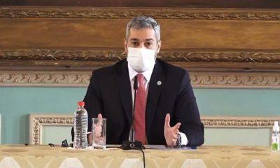 Mario Abdo confirma que Paraguay ya compró 5.300.000 dosis de vacunas contra el Covid