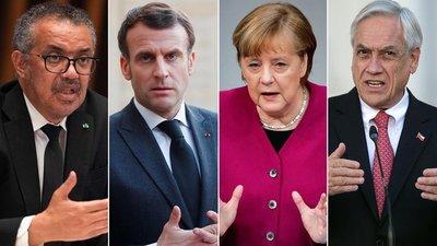 Jefes de Estado de 25 paises promueven un tratado internacional contra futuras pandemias