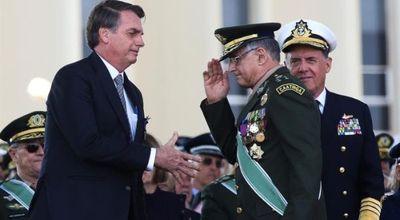 Renunció toda la cúpula de las Fuerzas Armadas de Brasil