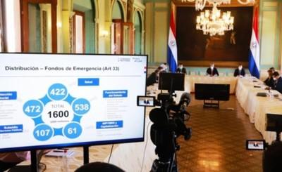Uso de los US$ 1.600 millones están a disposición, afirma Marito