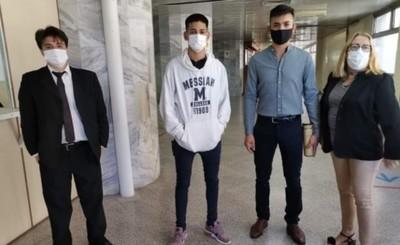 """Tres jóvenes a prisión por la quema de """"Colorado Róga"""""""