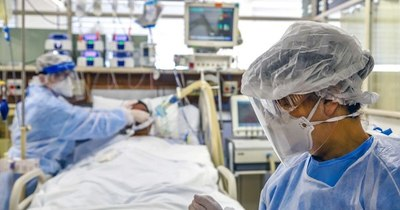 La Nación / Segunda ola empeoró mortalidad entre intubados en Brasil