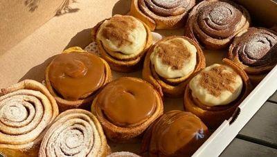 Gonzarolls: rolls de canela caseros hechos con amor (probá el de dulce de leche con helado de crema)