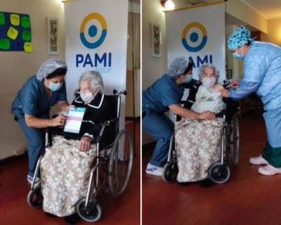 Crónica / Paraguaya de 113 años que venció al coronavirus ¡ya fue vacunada!