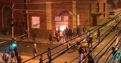 La Nación / ANR presentará una denuncia ante la CIDH por quema de Colorado Róga