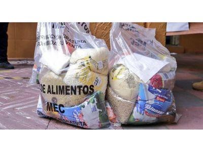 Kits de alimentos del MEC no alcanzan para todos