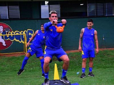 Vera recuperado, el DT piensa en Guaireña