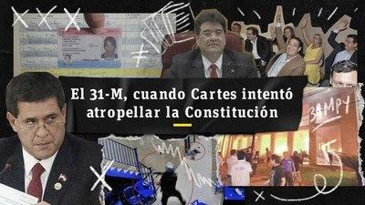 El 31-M, cuando Cartes intentó atropellar la Constitución