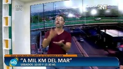Recibimos a Raúl Vega de A Mil km del Mar en el set de LMCD